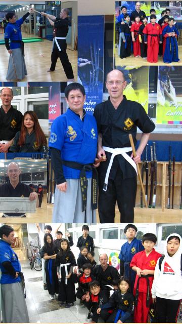 Training in Seoul